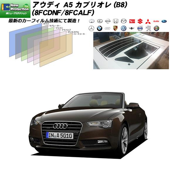 アウディ A5 カブリオレ (B8) (8FCDNF/8FCALF) IRニュープロテクション リアセット カット済みカーフィルム UVカット スモーク