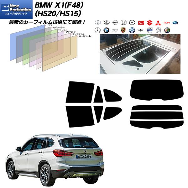 BMW X1(F48)(HS20/HS15) ニュープロテクション カーフィルム カット済み UVカット リアセット スモーク