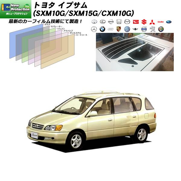トヨタ イプサム (SXM10G/SXM15G/CXM10G) IRニュープロテクション リアセット カット済みカーフィルム UVカット スモーク