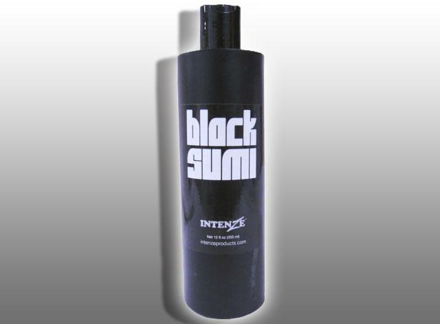 【 INTENZE 】 black sumi ( 355ml ) 【TATTOO / tattoo / タトゥー / 入れ墨 / 入墨 / 刺青 / トライバル / タトゥーマシン / タトゥーキット / タトゥー用品 / タトゥーセット / タトゥーニードル / タトゥー針】