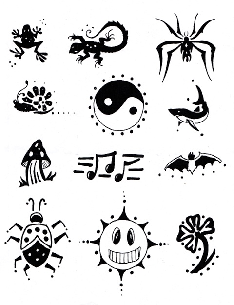 Body Deco Henna Tattoos And Henna Kit Basic Henna Rakuten