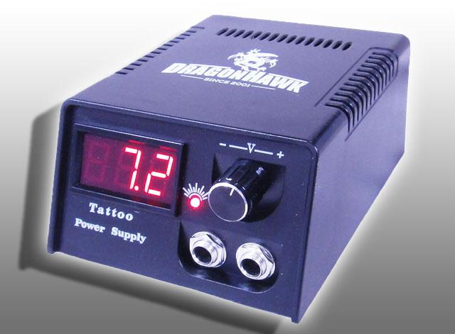 デジタル パワー サプライ 3点セット 【TATTOO / tattoo / タトゥー / 入れ墨 / 入墨 / 刺青 / トライバル / タトゥーマシン / タトゥーキット / タトゥー用品 / タトゥーセット / タトゥーニードル / タトゥー針】