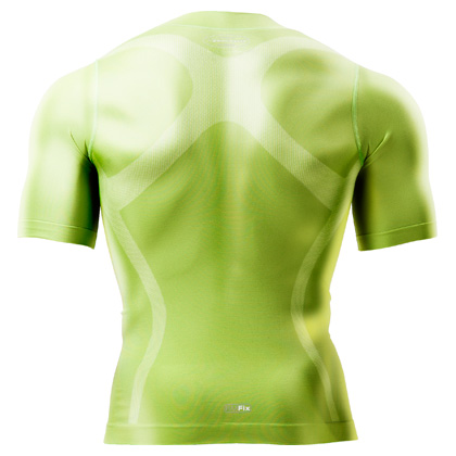 BM, FIX5 half sleeve functionalityware compression wear fitting type sweat perspiration fast-dry elasticity shirt tops fitting fast-dry ventilation ギアアンダーインナートレーニングスポーツウェアウォーキ