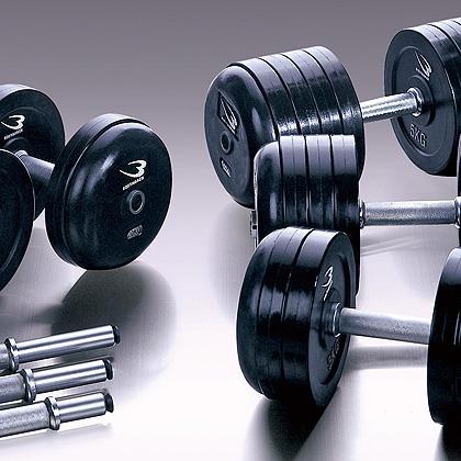 ジム用ダンベル44kg【BODYMAKER ボディメーカー】ダンベル プレート 重り 筋トレ 筋力 筋肉 鉄アレイ トレーニングジム ウエイトトレーニング ウェイトトレーニング weight 44kg