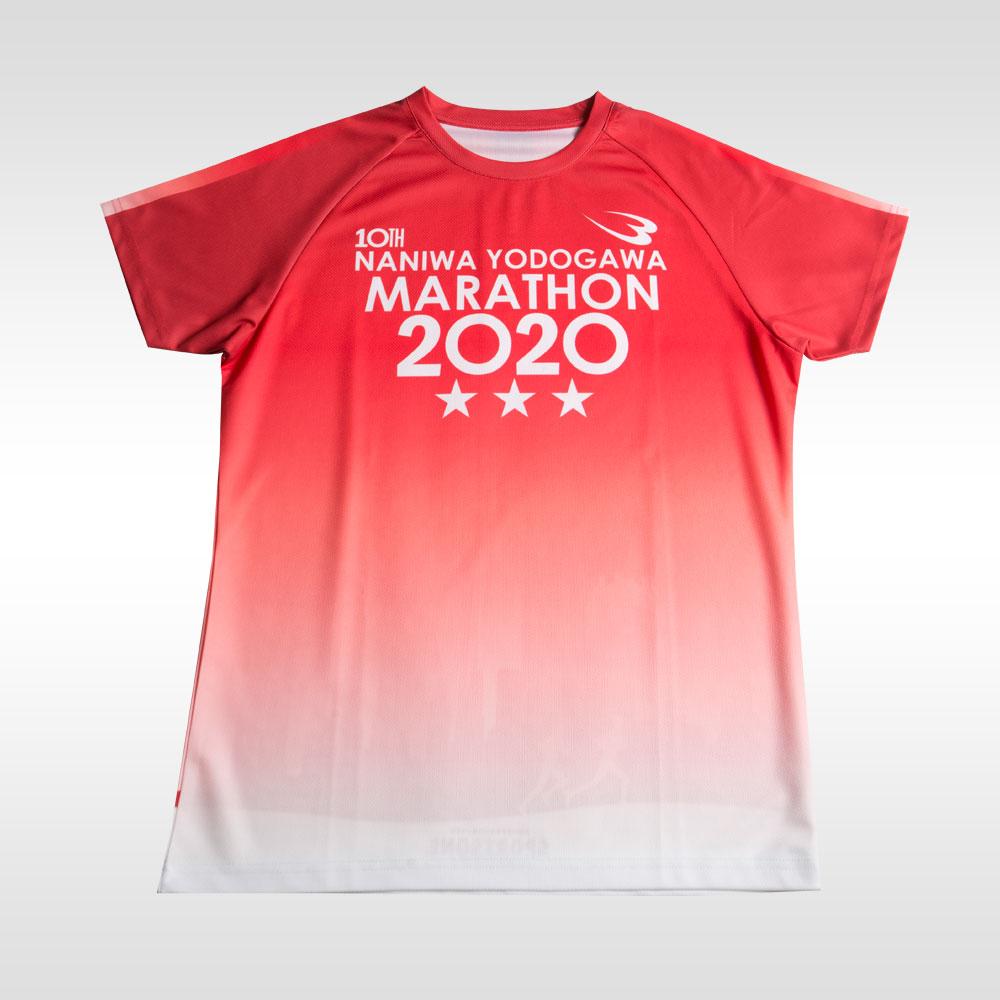 メーカー直売 なにわ淀川マラソンシャツ BODYMAKER ボディメーカー 機能性ウェア オンラインショッピング 速乾タイプ ルーズタイプ 吸汗 クールダウン トップス ジョギング ランニング スポーツウェア マラソン 迅速な対応で商品をお届け致します トレーニングウェア 大阪 シャツ クラブ活動 浪速