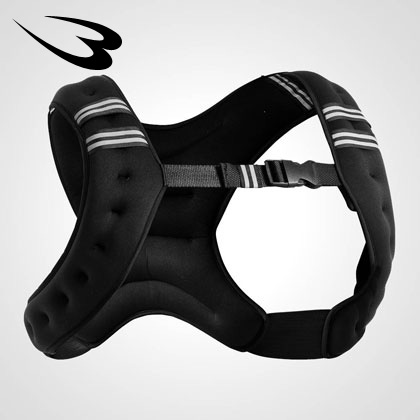 メーカー直売 パワージャケットXライン 5kg BODYMAKER ボディメーカー オリジナル パワートレーニング ウエイト 体幹 筋力アップ 選択 ウエイトジャケット 強化