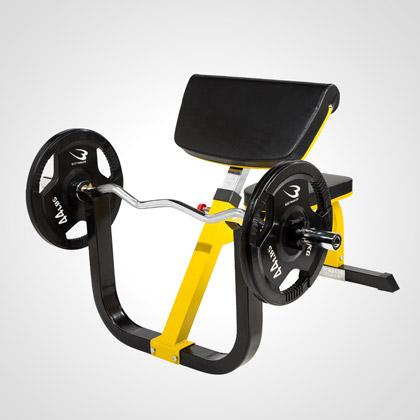 プリチャーカールベンチSP2【BODYMAKER ボディメーカー】アームカール 上腕トレーニング 力こぶ 筋トレ トレーニング用品 上半身強化