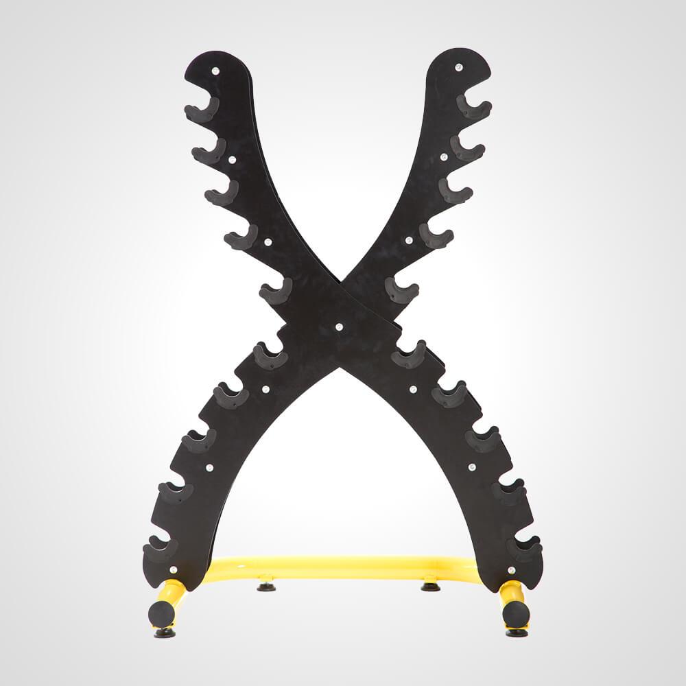 ダンベルラック X【BODYMAKER ボディメーカー】ダンベルラック フリーウエイト ウエイトトレーニング トレーニング用品