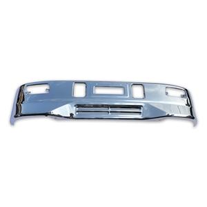 三菱ふそう2t 標準 ボディ スーパーグレート タイプ メッキ フロント バンパー W1700mm × H330mm 汎用 エアダム 一体 スポイラー 鉄製 新品【当日出荷可能】