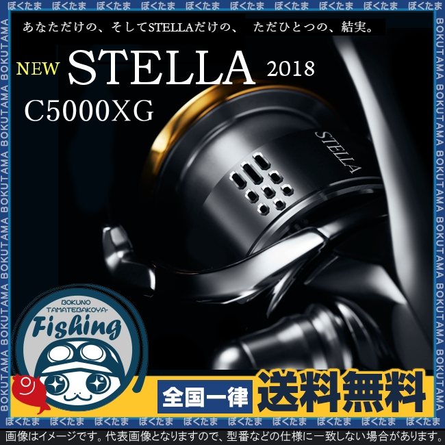 【送料無料】 ステラ STELLA 2018年モデル C5000XG [ スピニングリール SHIMANO 18 2018 フィッシング 釣り 海 高級 シマノ リール 18ステラ 数量限定 ]