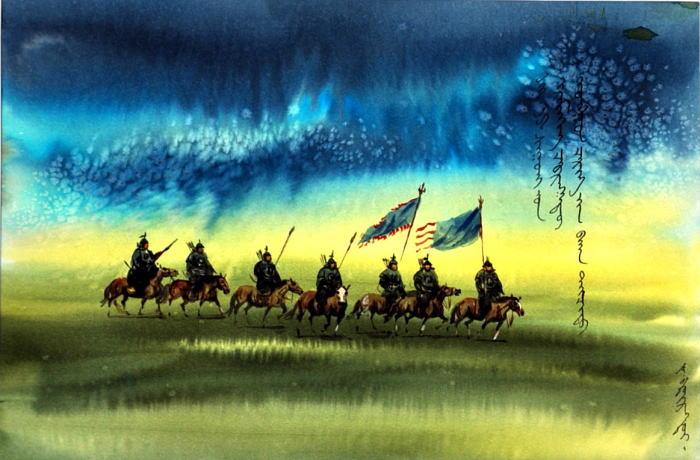 モンゴル戦乱記を描いた勇壮な作品です ご家庭のリビングや オフィスなどにも最適です 2020春夏新作 絵のあるお部屋で 寛ぎのひと時をお過ごしください 送料無料 モンゴル戦国画2 額 贈り物 癒し 絵 新築祝い インテリア 低廉 寛ぎ