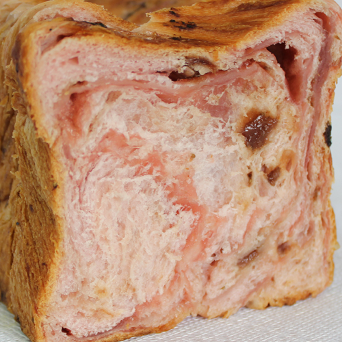 苺の果肉チップに苺ペーストを織り込んだ濃厚な苺デニッシュパンです 新品■送料無料■ 35%OFF 京都祇園ボロニヤはんなり濃厚苺デニッシュ1斤