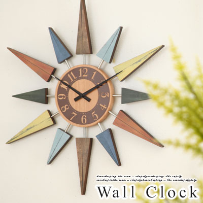掛け時計 壁掛け時計 デザイン スイープ 時計 静音 掛時計 木製 壁掛時計 インテリア雑貨 クォーツ ギフト 贈り物 祝い ショップ サロンカフェ プレゼント デザイナーズ おしゃれ