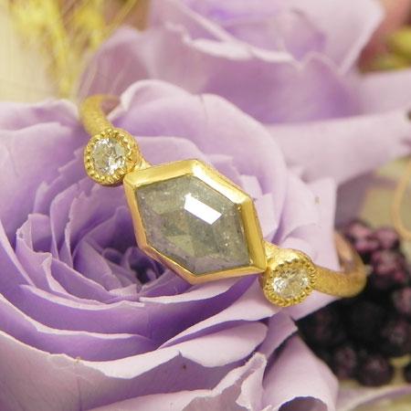 K22 ナチュラルダイヤリング 1.45ct限定1個即納可能送料無料ナチュラルダイヤモンド
