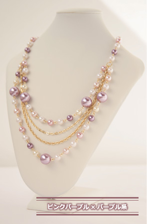 Item invited clothes, such as party, wedding, party, entrance ceremony and graduation and entrance ceremony and graduation ceremony a great ♪ ◆ Bonaventure (ボナバンチュール) 4-style multicolor Pearl Necklace popular in translation and! Strong yen reduction tria