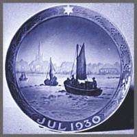 ロイヤルコペンハーゲン[Royal Copenhagen] イヤープレート イヤープレート1930年(昭和5年)【漁船】#rchyp1930