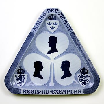 ロイヤルコペンハーゲン[Royal Copenhagen] メモリアルプレート スカンジナビア三王会見記念 #RNR158#rch006767