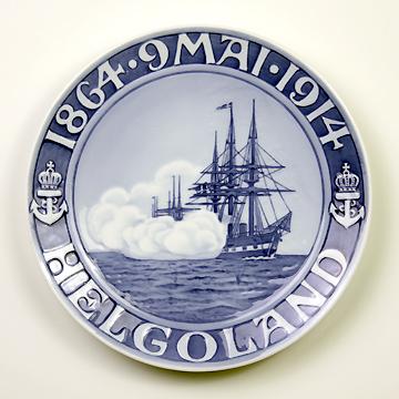 ロイヤルコペンハーゲン[Royal Copenhagen] メモリアルプレートヘルゴランドの戦い50周年記念 RNR150#rch006766