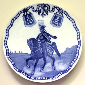 ロイヤルコペンハーゲン[Royal Copenhagen] メモリアルプレート 王立軽騎兵連隊設立150周年記念 #RNR135 #rch006771