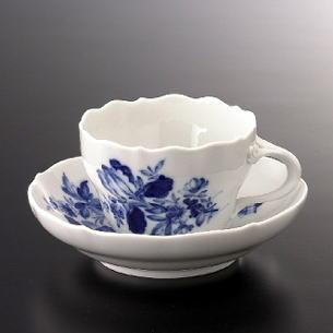 最終値下げ マイセン(Meissen) ドイツの花(ブルー) コーヒーC/S コーヒーC #msn001876/S #msn001876:ボンドストリート, おてんと屋:71304cbc --- lingaexpo.pl