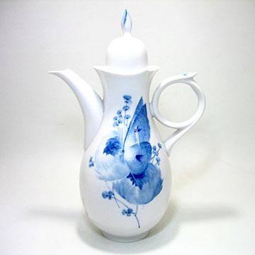 マイセン(Meissen) 青い花 コーヒーポットNo.28694 #msn008788