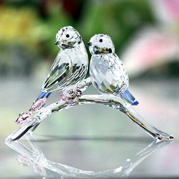 スワロフスキー 置物(Swarovski) 鳥 アオガラ #swv5004727