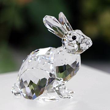 スワロフスキー 置物(Swarovski) 動物 ウサギ #5266232