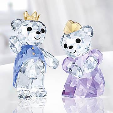 スワロフスキー 置物(Swarovski) クリスベア Kris Bear Prince & Princess #swv5301569
