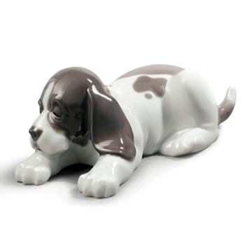 リヤドロ(Lladro リアドロ 陶器人形 置物) 動物 うたたね #ldr-9134