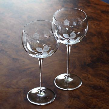 ウエッジウッド[Wedgwood] ワイルドストロベリー ラージワイン・ペアセット #wdw009120
