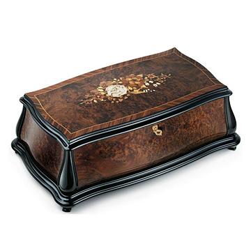 リュージュ プレステージシリーズアンボイナのこぶ材とローズウッド 4曲144弁 AXA.14.8004.002 (テーブル付き)#rge007933