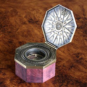 インテリア小物 ヘミスフェリウム・スペイン マリーン&アストロコンパス カルダン式マリーンコンパス(レプリカ)#int008504