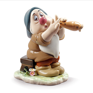LLADRO リヤドロ ディズニーコレクション 白雪姫と七人の小人たち(スリーピー)#ldr-9326