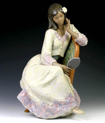 リヤドロ(Lladro リアドロ 陶器人形 置物) 乙女 美のきらめき#ldr-12437