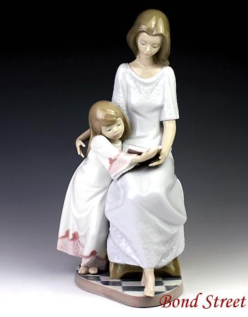 第一ネット リヤドロ(Lladro リアドロ 陶器人形 #ldr-5457 置物) 母と子 母と子 お休み前のご本 リアドロ #ldr-5457, 激安輸入雑貨の店R-MART plus:5c3b9dc1 --- canoncity.azurewebsites.net