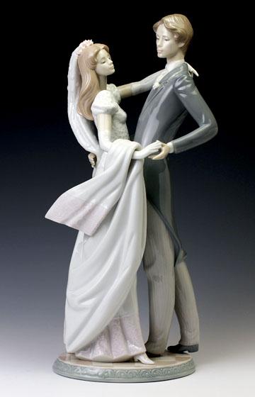 リヤドロ(Lladro リアドロ 陶器人形 置物) ダンス ウェディングダンス(台座別)#ldr-1528