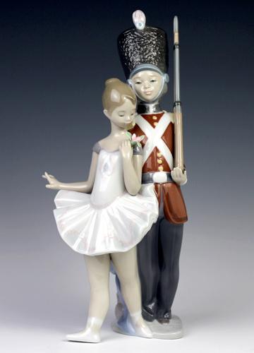 リヤドロ(Lladro リアドロ 陶器人形 置物) ファンタジー スズの兵隊さん#ldr-8321