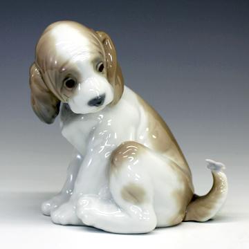 リヤドロ(Lladro リアドロ 陶器人形 置物) 動物 犬(マイフレンド)#ldr-6210