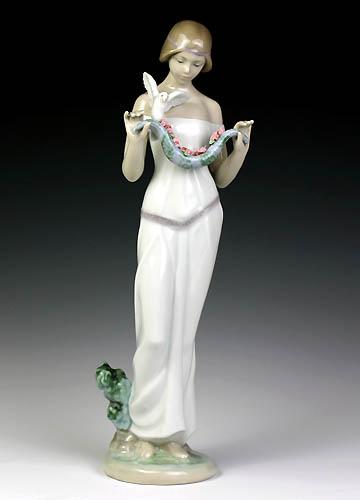 超歓迎された リヤドロ(Lladro リアドロ 置物) 陶器人形 リアドロ 置物) 陶器人形 乙女 花香る季節に#ldr-8510, ボブズ洋品店:47b02f1e --- canoncity.azurewebsites.net