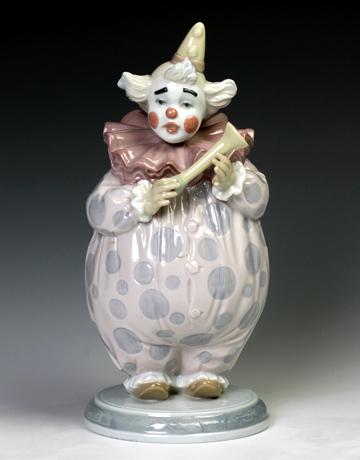 リヤドロ(Lladro リアドロ 陶器人形 置物) ピエロ ショウタイム#ldr-6938