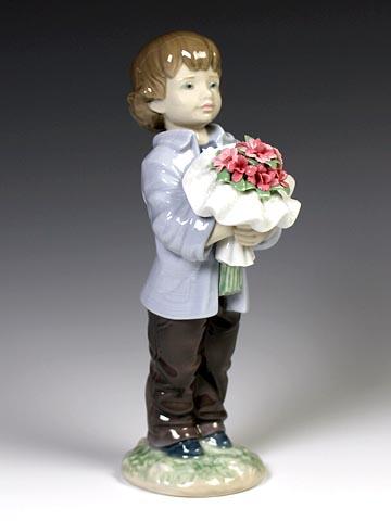 リヤドロ(Lladro リアドロ 陶器人形 置物) 男の子 一番好きなあなたへ#ldr-8504
