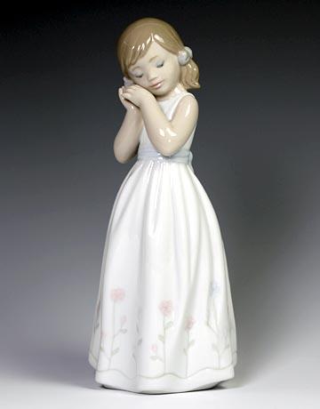 リヤドロ(Lladro リアドロ 陶器人形 置物) 少女 我が家のプリンセス#ldr-6973