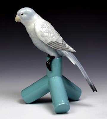 リヤドロ(Lladro リアドロ 陶器人形 置物) 動物 PARROT ONE#ldr-7852