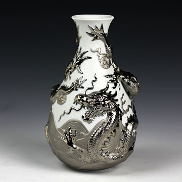 リヤドロ(Lladro リアドロ 陶器人形 置物) 動物ss  ドラゴン・ベース(ミックス) #ldr-7058