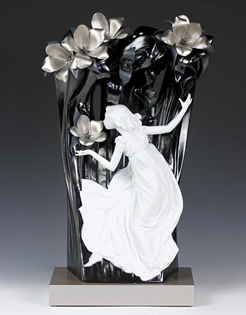 【ふるさと割】 リヤドロ(Lladro リアドロ リヤドロ(Lladro 陶器人形 置物) ファンタジー  森のニンフ(Re-Deco)(限定1500体 ) #ldr-7102 ) #ldr-7102, サカキマチ:0af3f70c --- cranescompare.com