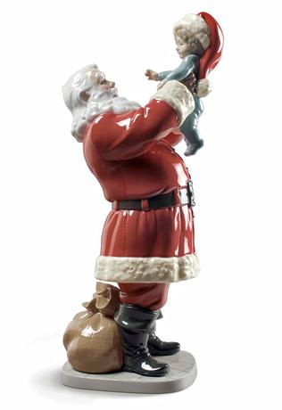 リヤドロ(Lladro リアドロ 陶器人形 置物) クリスマス メリークリスマス サンタさん! #ldr-9254
