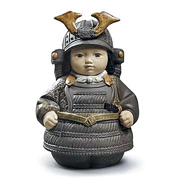 リヤドロ(Lladro リアドロ 陶器人形 置物) 男の子 若武者(小)#ldr-12552