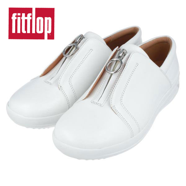 fitflop フィットフロップ Q09 FーSPORTY 2 STUDDED フロントZIPスニーカー 送料無料 アウトレット セール