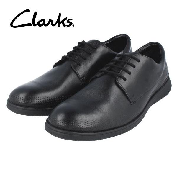 CLARKS クラークス 送料無料 198J プレーントゥ ブラック メンズ ドレスシューズ ビジネスシューズ カジュアル タウンユース 期間限定特価
