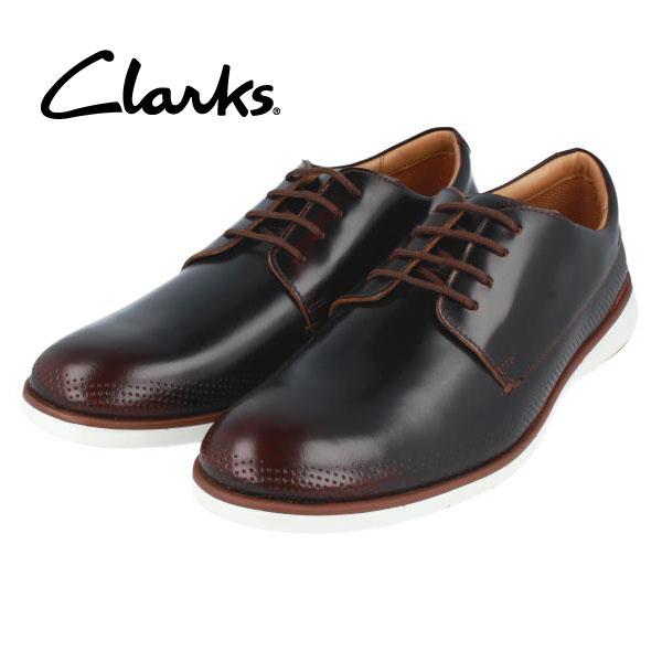 CLARKS クラークス 送料無料 198J プレーントゥ ダークブラウン ダークタン メンズ ドレスシューズ ビジネスシューズ カジュアル タウンユース 期間限定特価